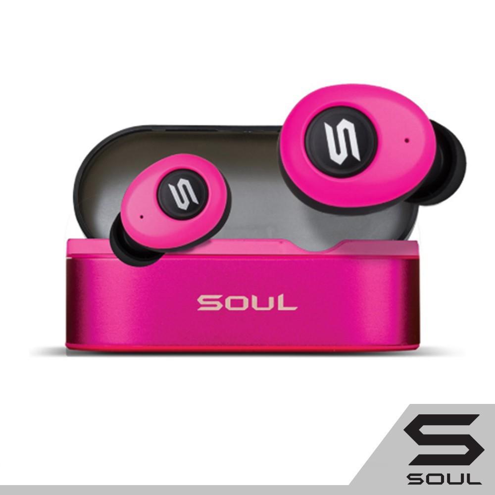 SOUL ST-XS 高性能真無線藍牙耳機-桃紅色