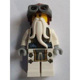 玩樂趣 LEGO樂高 70604 Sensei Wu 二手人偶 (njo208)