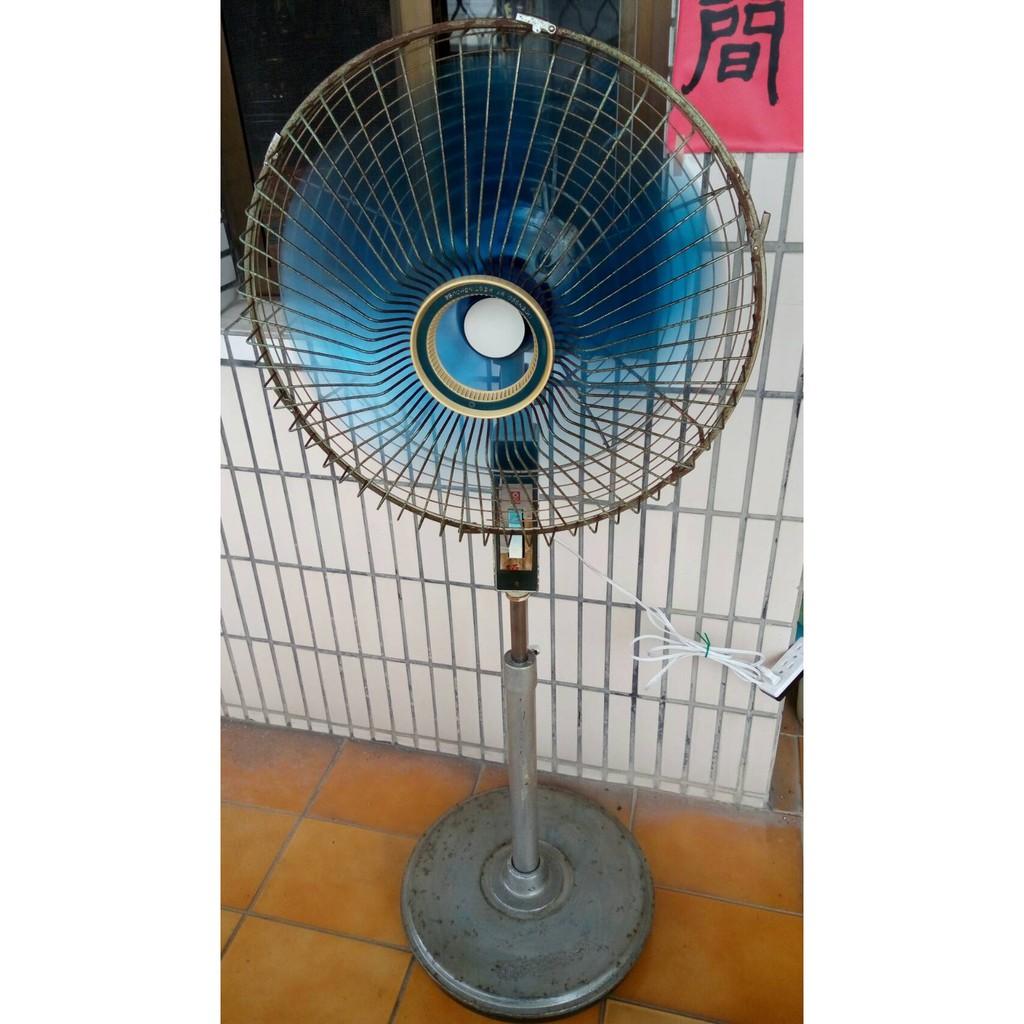 [台灣製造]復古 傳統 大同 16吋 電風立扇 古董電扇