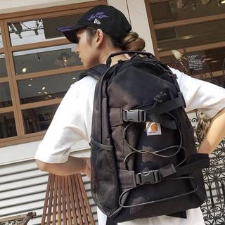 卡哈特carhartt雙肩包男女滑板包工裝包帆布電腦背包學生書包潮牌