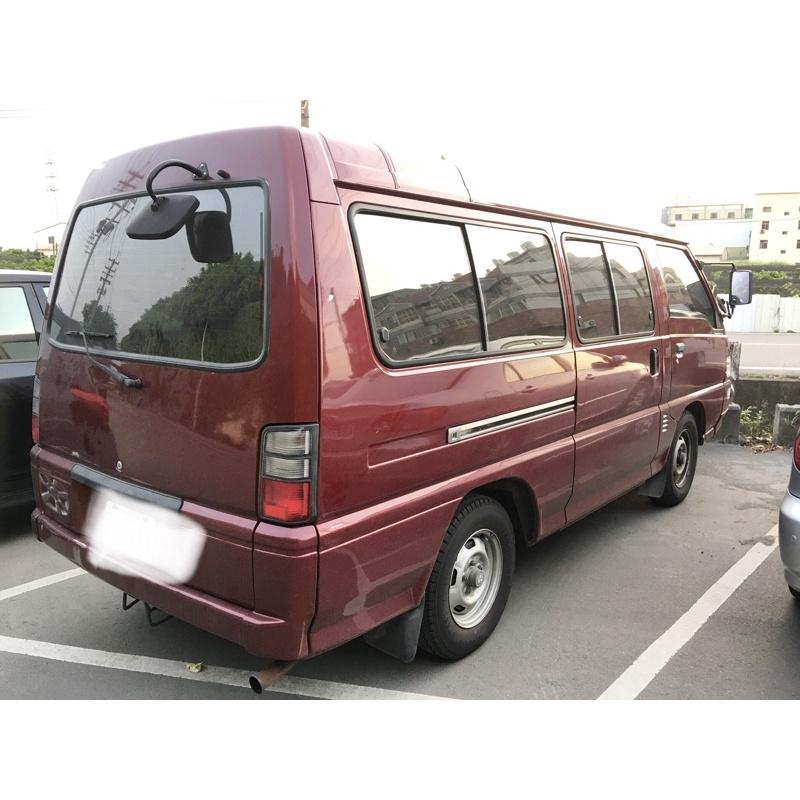 自售三菱得利卡箱型車2.4長軸2007年露營車加長版delica廂型車8人座