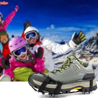 戶外24齒冰爪 雪地防滑冰爪鞋套 防滑雪爪 基隆市