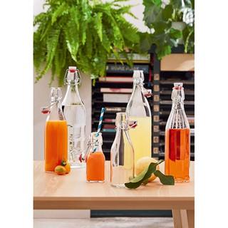 【全館88折】義大利醃漬瓶 4款125/ 250/ 500/ 1000cc  Bormioli Rocco玻璃瓶 水瓶 果汁 臺中市