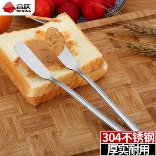 新款推薦德國304不銹鋼黃油刀牛油刀麵包果醬勺奶油抹芝士塗抹刀西餐餐具 臺南市
