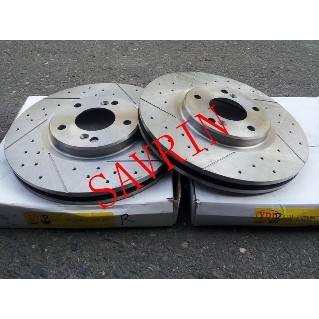 SAVRIN,FORTIS,GRUNDER,OUTLANDER 盤面直徑276mm 前煞車盤.前碟盤(一組兩片裝)