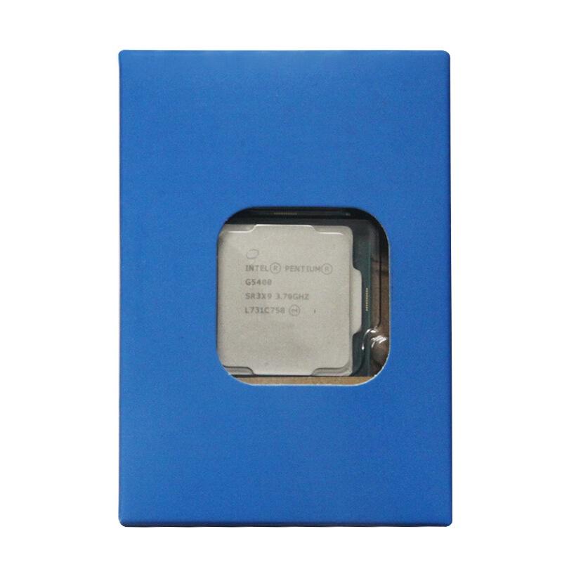 【關注減400】G5400 八代雙核四線程3.7Ghz 散裝 LGA115114納米  外頻:200MHz Rkxj