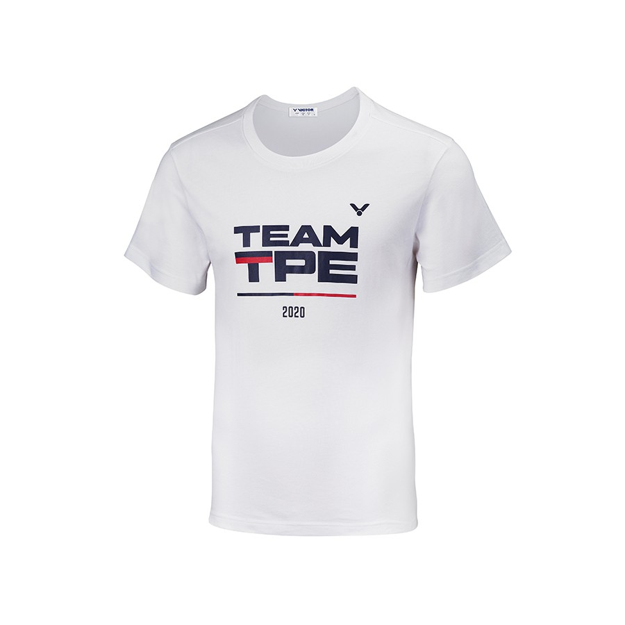 🏸SOSA羽球超市🏸【衣】VICTOR T-2021 中華隊奧運應援棉T恤 (中性 純棉) 2020款