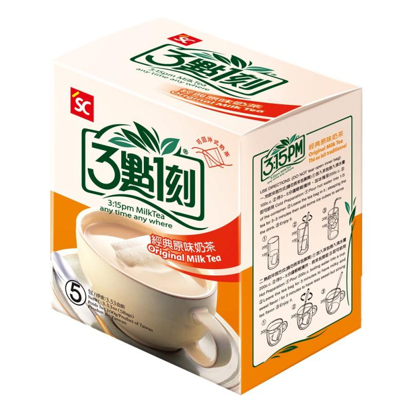 【3點1刻】經典原味奶茶 (5入/盒)