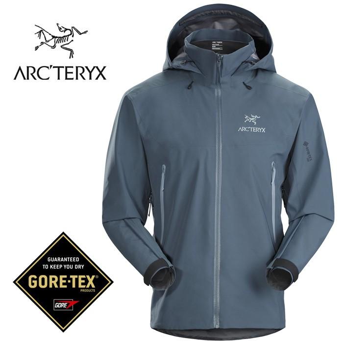 【ARCTERYX 始祖鳥 加拿大】Beta AR 透氣防水外套 防水夾克 男款 海王星 (L07221800)