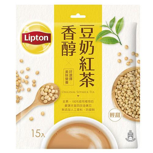 立頓香醇豆奶紅茶19Gx15【愛買】