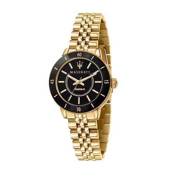 MASERATI WATCH 瑪莎拉蒂手錶 R8853145503  LADY名媛風光動能雙色腕錶 原廠正貨
