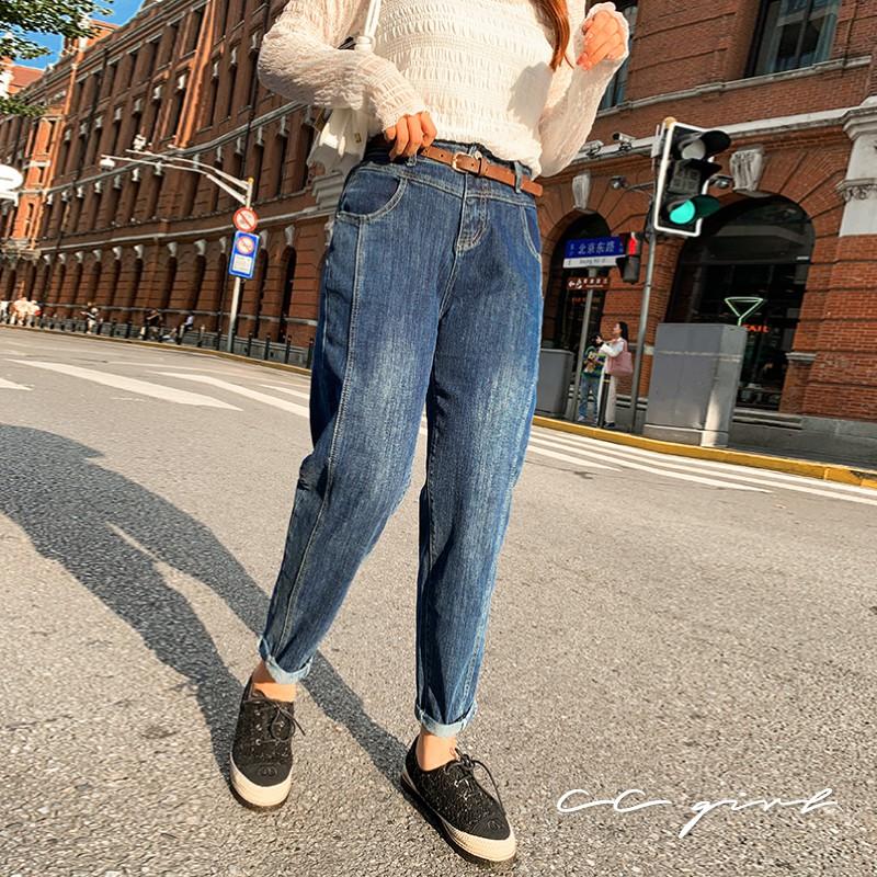 CC-GIRL 經典立體修身牛仔褲 - 適XL~4L《 20273 》中大尺碼