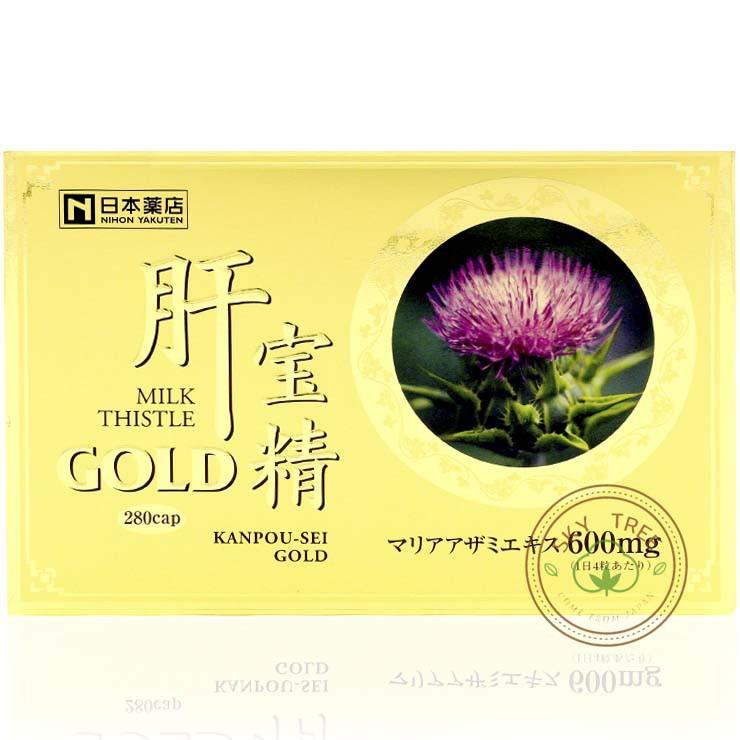 日本藥店 藥王 肝寶精 Gold