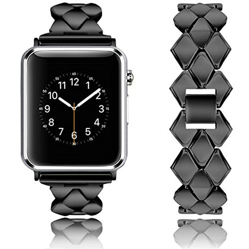 Apple Watch Iwatch Series 3 2 1 38mm 42mm 的金屬不銹鋼錶帶
