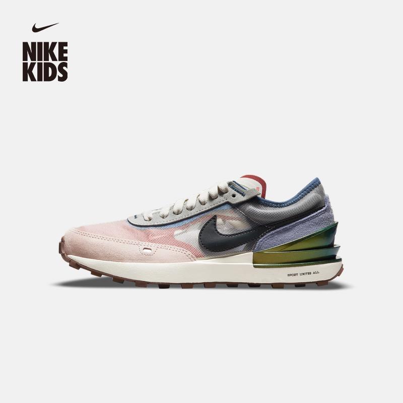 Nike耐吉WAFFLE ONE BG大童運動童鞋新款夏季透氣輕盈DM5454#SPORT