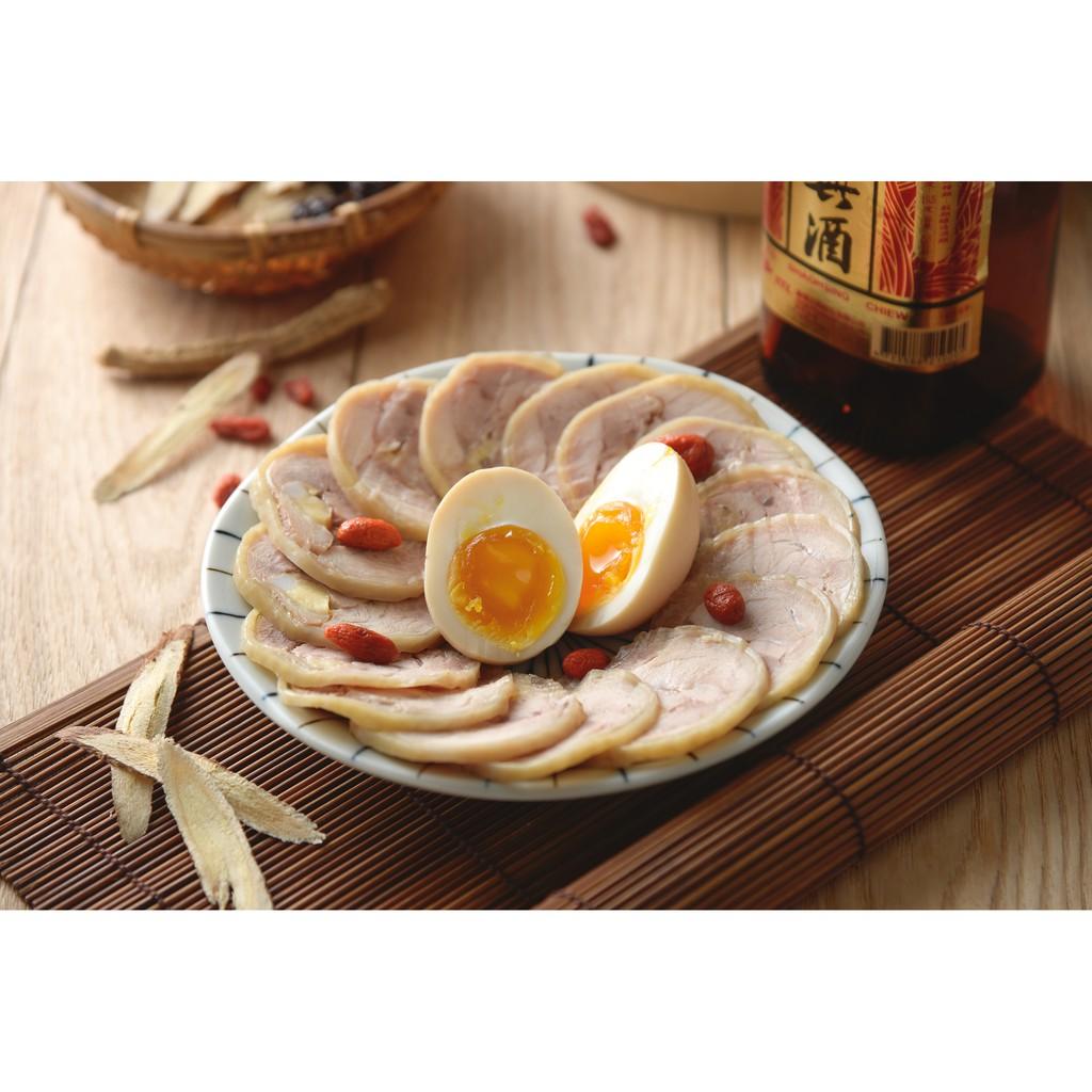 開胃菜紹興醉雞腿捲 (500g)