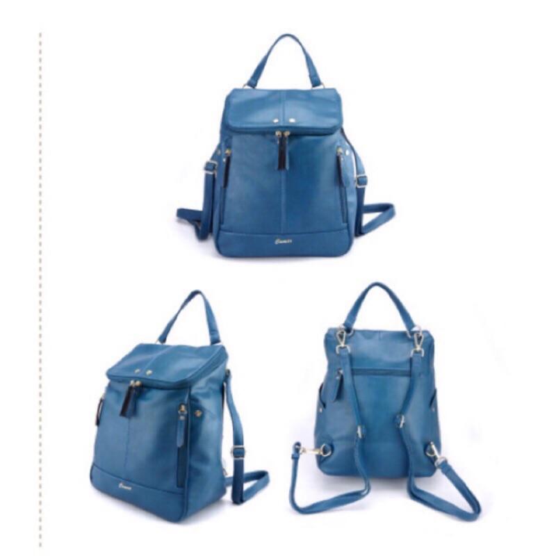 CUMAR 超大空間輕量後背包-經典水藍色