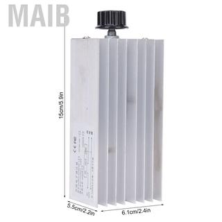 Maib 10000w 220v Scr Ac 電子穩壓器調光調速器帶外殼