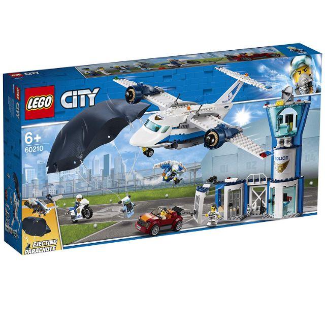 樂高 lego 60210 city 城市系列 航警航空基地 全新未開 現貨 lego60210