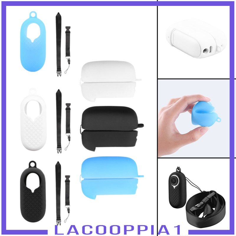 [LACOOPPIA1] Insta360 GO2 相機的矽膠保護套