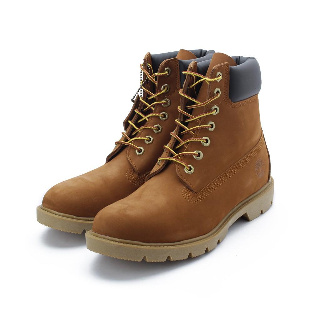 TIMBERLAND 磨砂革高筒靴 黃* 19076 男鞋