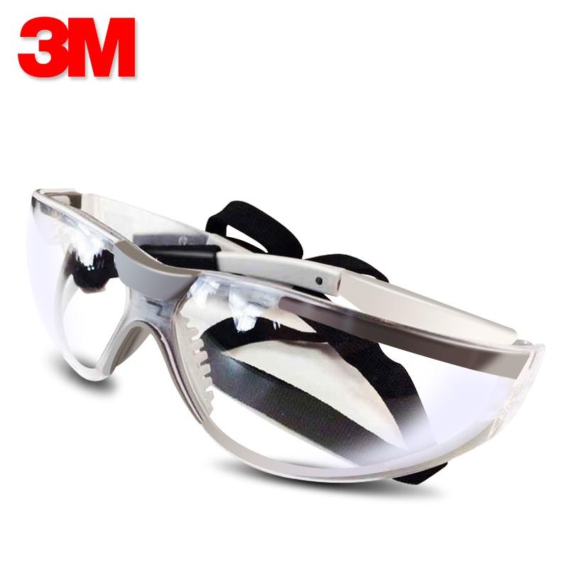 【防護用品】 防護手套防護眼鏡防護口罩防護服3M 11394護目鏡紫外線戶外騎行眼鏡防霧防沙風鏡實驗室防護眼鏡
