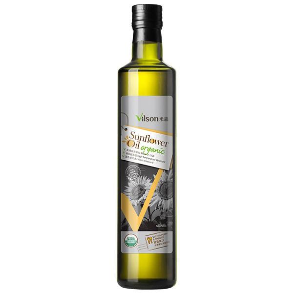 米森-有機不飽和葵花油750ml