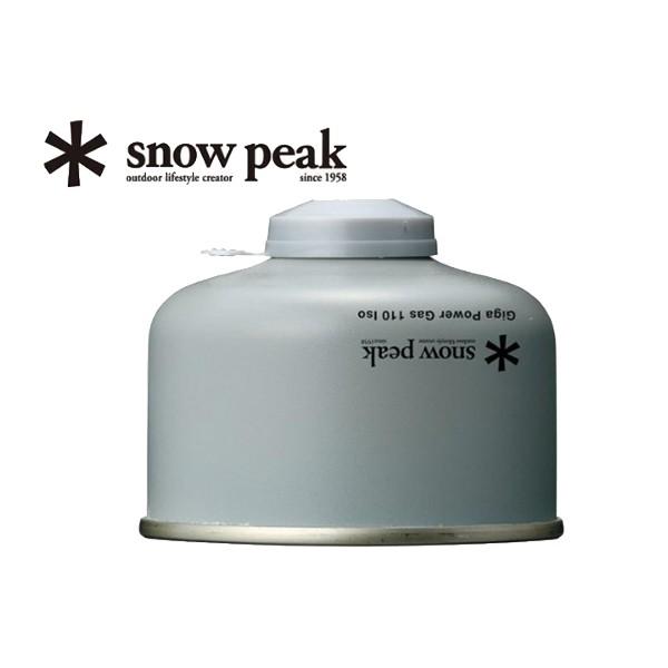 日本[SNOW PEAK]高效能瓦斯110g《長毛象休閒旅遊名店》