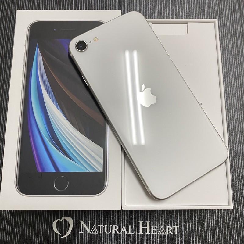 售 中古漂亮 APPLE 🍎蘋果 iphone SE2 128G 白 9.9成新 可舊機折抵 雙北宜蘭可面交
