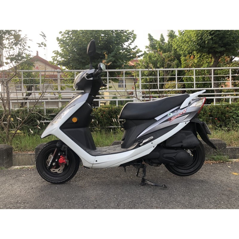 2015年 SYM GT 125 cc 代步車  高雄 岡山 二手 中古機車 可協辦低利分期
