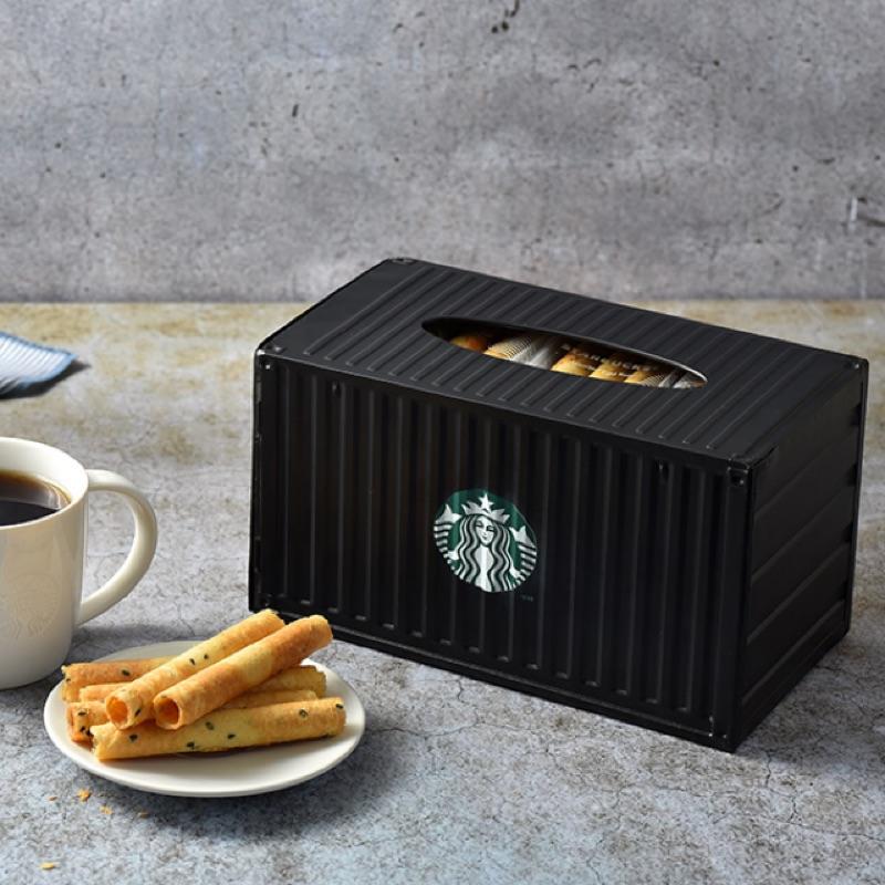 週年蛋捲貨櫃禮盒 🎁 貨櫃門市 咖啡捲心酥週年貨櫃禮盒 週年蛋捲 貨櫃禮盒  星巴克沁涼糖文具盒 洄瀾貨櫃