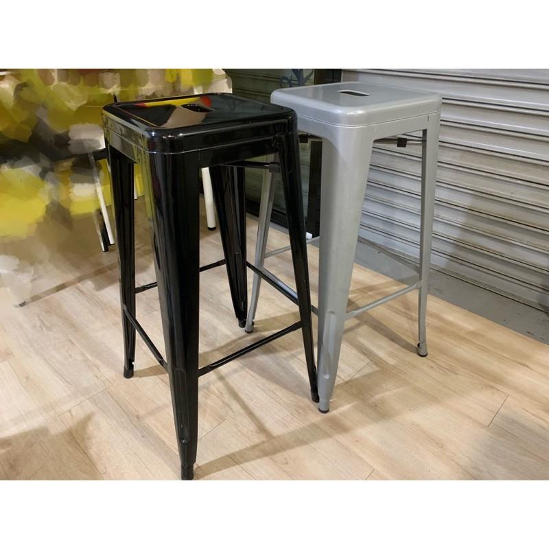 【二手】吧檯椅 工業風 高腳椅 鐵凳 餐椅 灰色