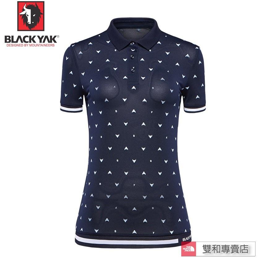 -滿3000免運-[THE NORTH FACE雙和專賣店]BlackYak 女POLO衫/BY181WC10956/藍