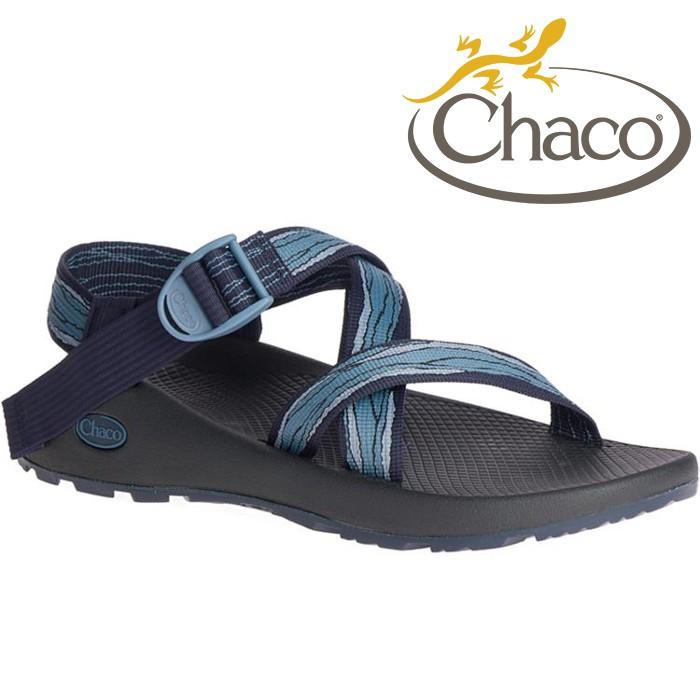 Chaco 涼鞋/越野運動涼鞋/水陸鞋/綁帶涼鞋-標準款 男 美國佳扣 CH-ZCM01 HG44 格萊茲藍