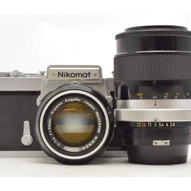 Nikon nikomat 50mm f1.4 135mm f2.8 non ai 鏡頭 手動