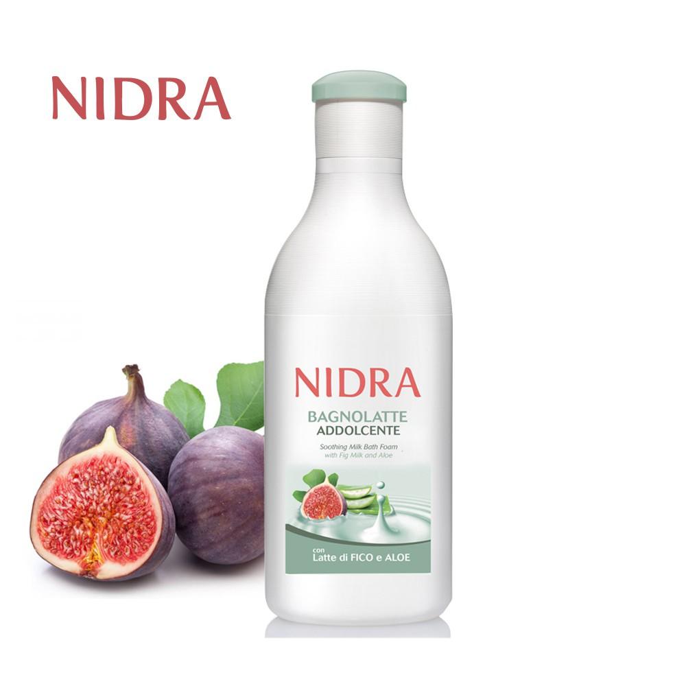 【NIDRA 妮德雅】極致呵護牛奶蛋白潤膚沐浴乳 750ml (無花果奶+蘆薈/舒緩滋潤 )