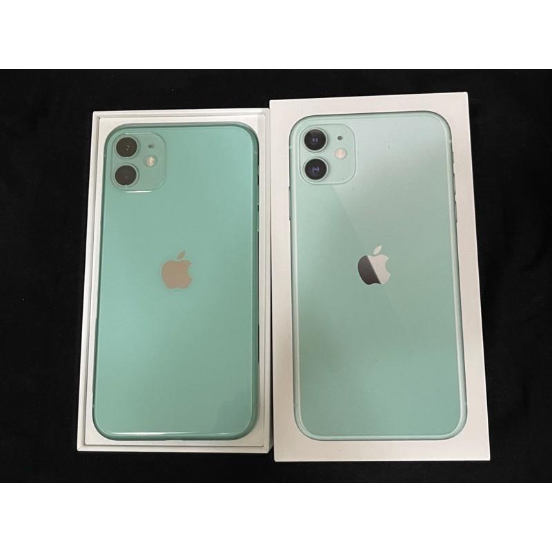 iphone11 128g 綠 二手女用機15000保固至2021年3月底