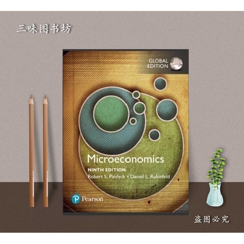 現貨/Microeconomics Robert Pindyck  9th Global Edition
