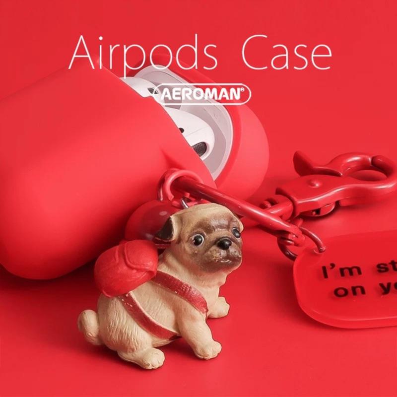 airpods pro 保護套 1代 2代 3代 巴哥 巴哥犬 巴哥狗 巴戈 鬥牛犬 法鬥 貓咪 科基 柴犬 三代