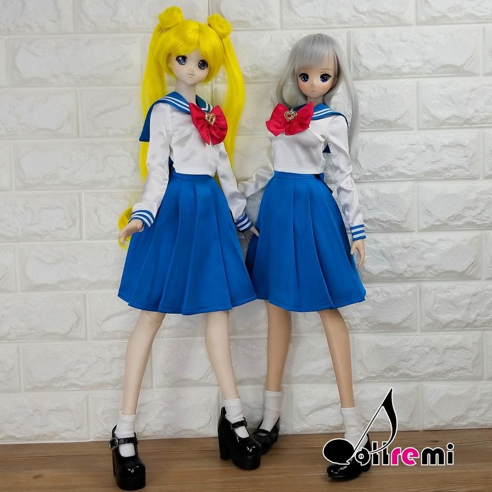 Dollremi◆1/3 美少女戰士 月野兔 制服 DD Smart Doll ◇現貨 ◇◆MonJouJou代理