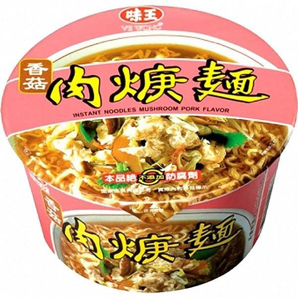 味王香菇肉羹湯麵-1箱