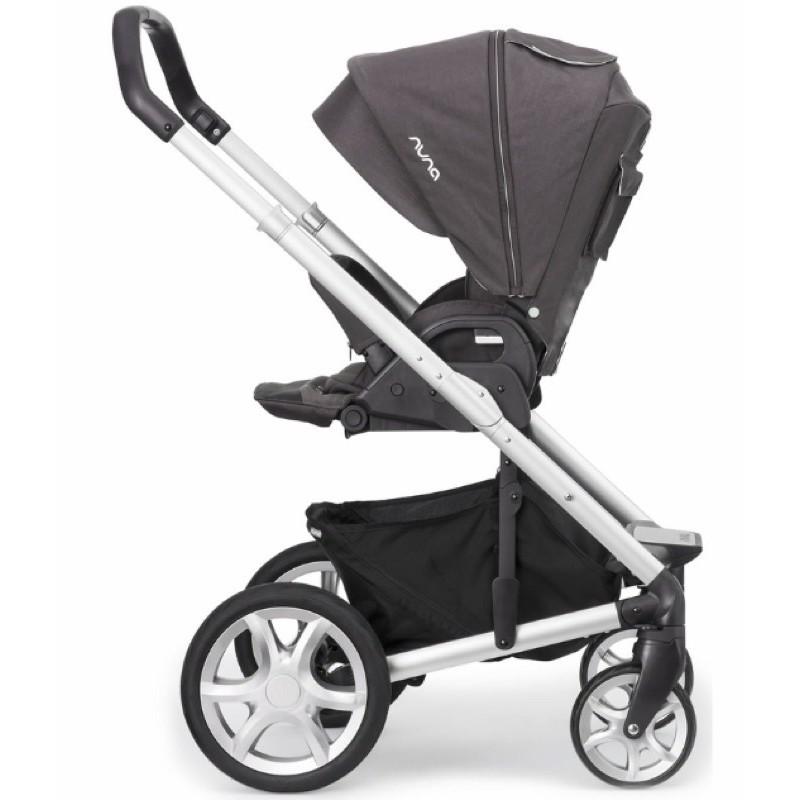 二手 Nuna Mixx一代灰紫色 新生兒專用 嬰兒手推車娃娃車 雙向坐臥平躺 大戰車 保存良好