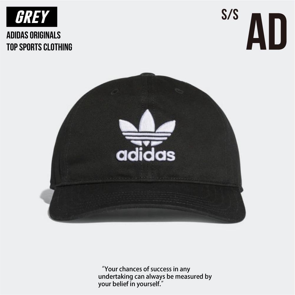 Adidas 愛迪達 經典 三葉草 老帽 EC3603 帽子 黑色 白色 全新正品 開立統一發票