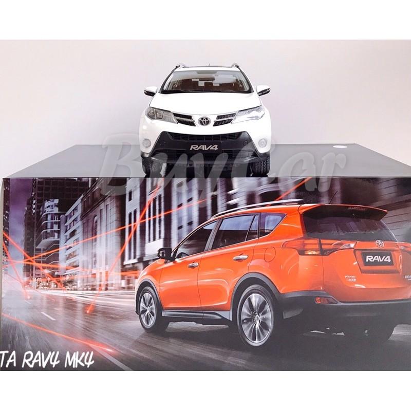 BuyCar模型車庫 1:18 Toyota RAV4 絕版模型車