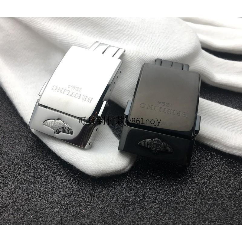 爆款熱賣適配Breitling 百年靈表扣1884原裝表扣皮帶橡膠帶折疊扣20mmjv861nojy_