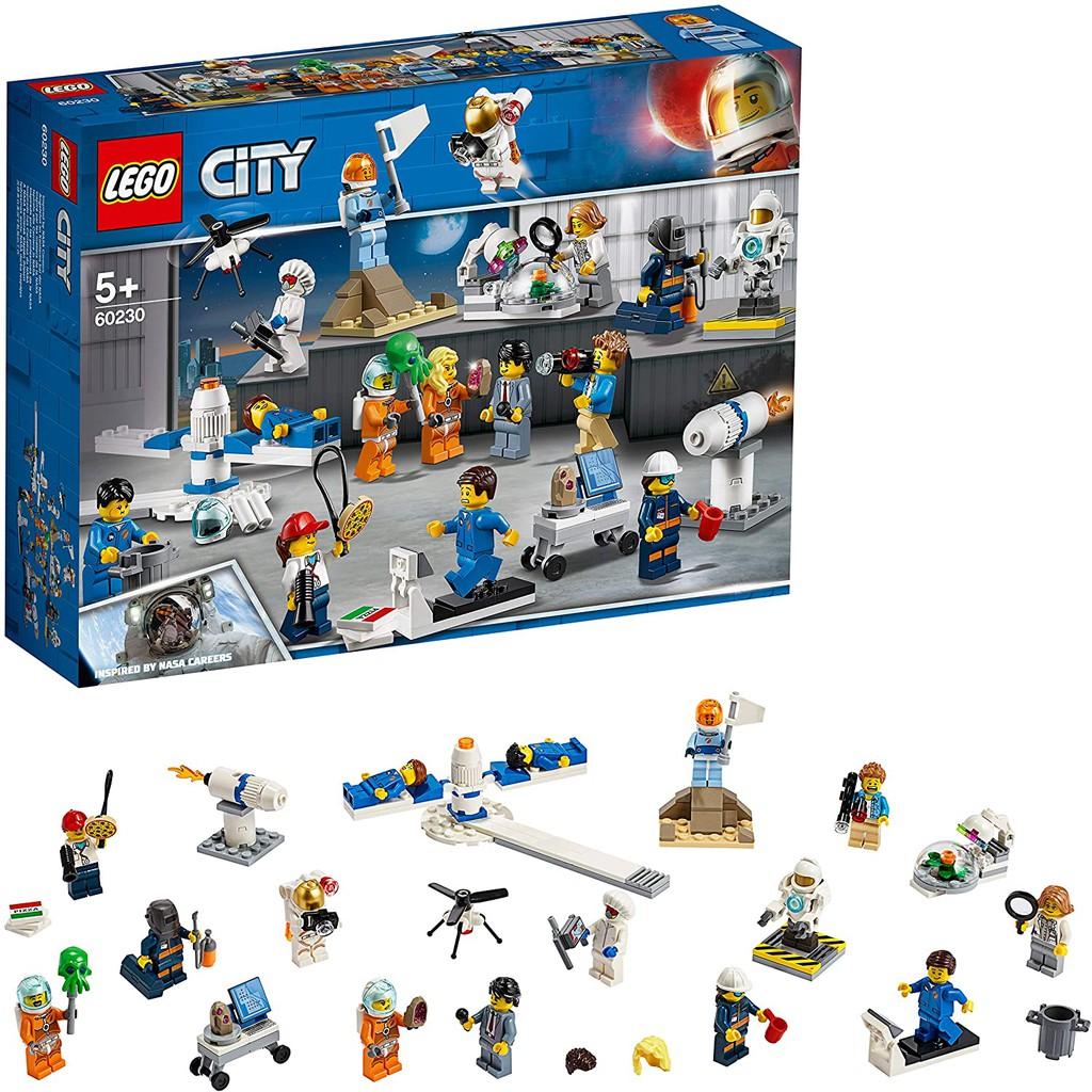【益智天堂】 樂高 LEGO 60230 太空研究與開發 人偶 城市系列