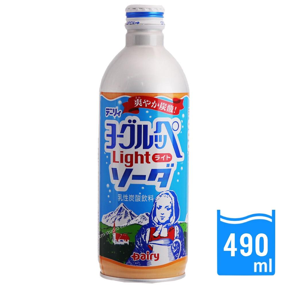 日本進口 Yoghurppe 南日本酪農 碳酸飲料 低卡蘇打 鋁瓶(490ml/瓶)