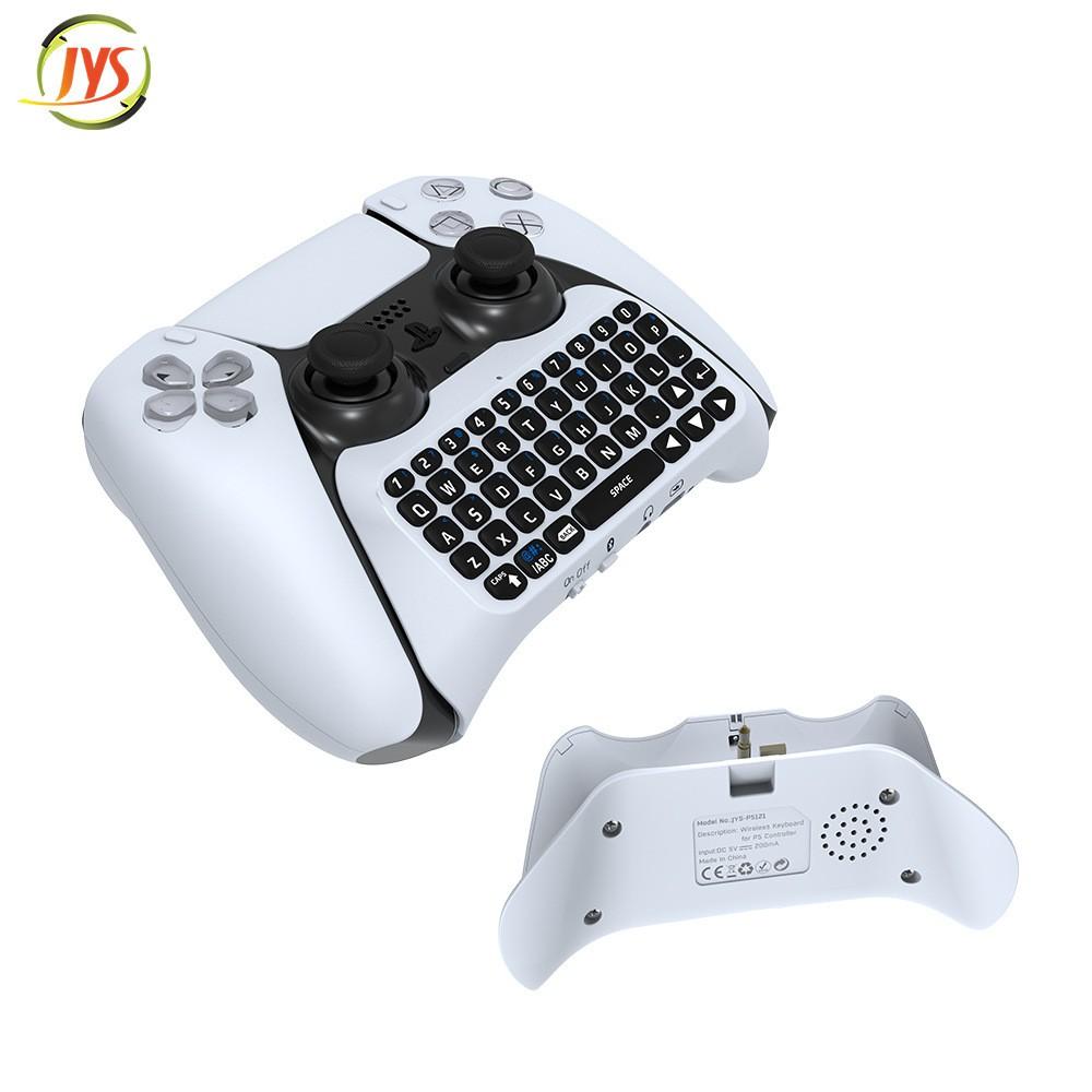 【限時下殺】PS5手柄  藍牙 無線 鍵盤PS 5藍牙 外接鍵盤PS5 手柄 可聊天語音 藍牙鍵盤