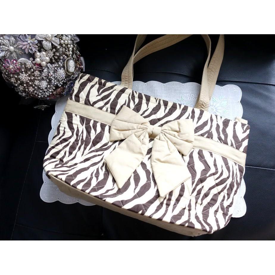泰國品牌娜萊雅NaRaYa曼谷包咖啡色米黃斑馬紋動物紋包包寬版肩背包側背包米色斑馬紋路方包媽媽包大包包布包