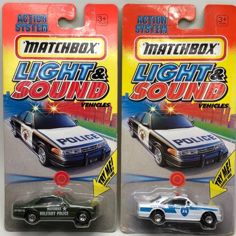 火柴盒 絕版 初代 絕版 老卡 寶藏 聲光版 警車 賓士 Benz 500sec 稀有 非 多美 風火輪 京商 美捷輪